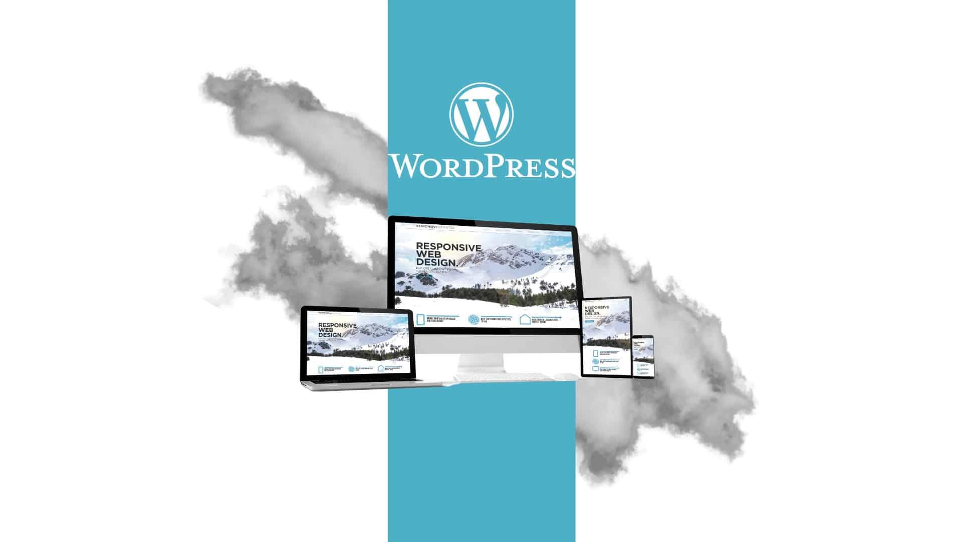 Website WordPress groß